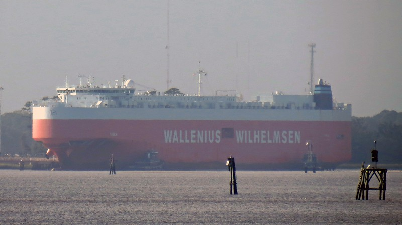 Wallenius Wilhelmsen is a Scandinavian shipping company.