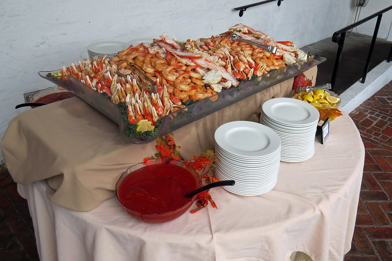 Even more cold shrimp and crab legs.