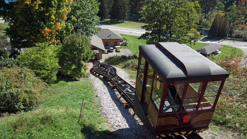 Building a Funicular Railway was a good decision given the theme of the site.