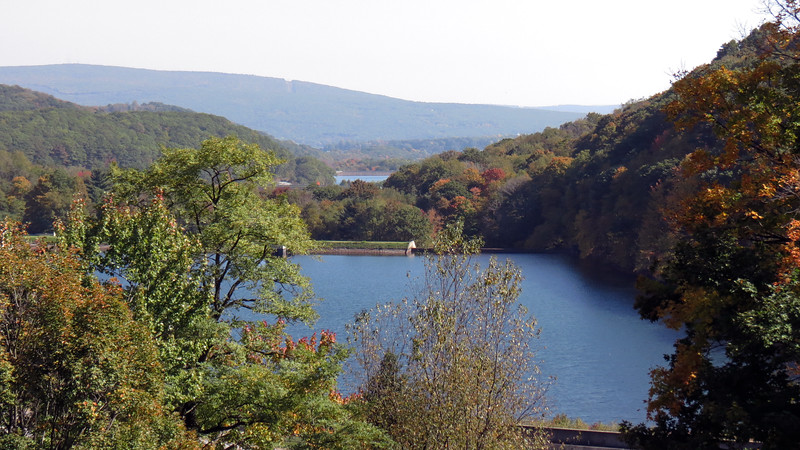 The body of water off in the distance in the photo above is Lake Altoona, another source of drinking water for the city.