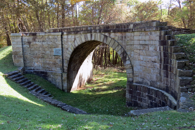 A Skew Arch Bridge is an arch bridge that allows for a crossing at an angle other than a right angle.