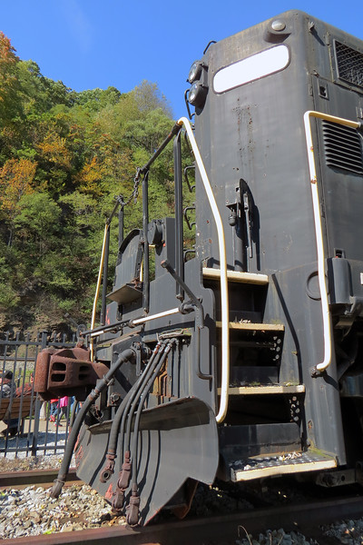 After 2.5 million miles, PRR #1361 was retired in 1956 and put on static display at the Curve.