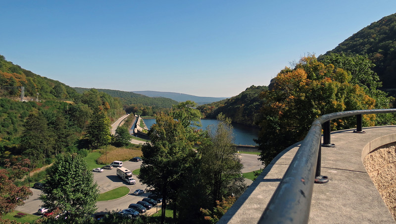 The photo above is another view looking east toward Altoona from the top of the stairs.
