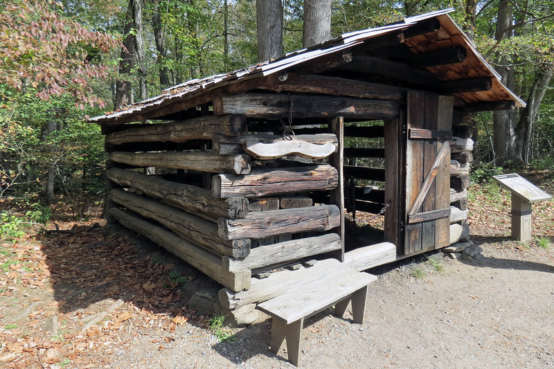 The Blacksmith Shop dates from approx. 1900 and came from the Cades Cove area.