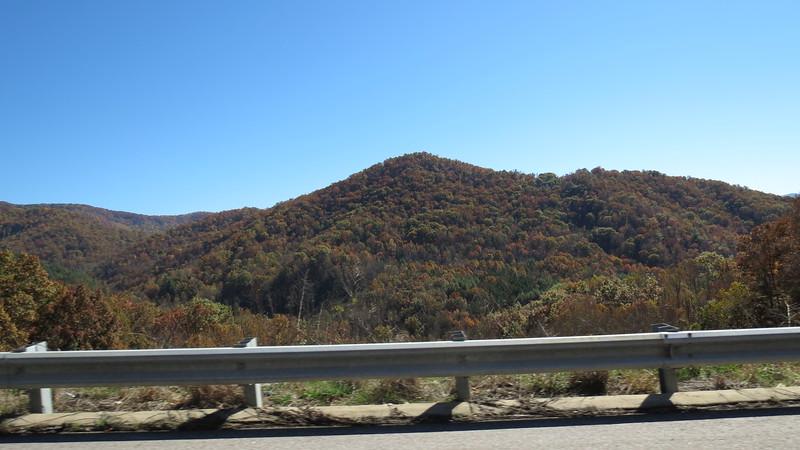 US Route 441 near Franklin, North Carolina.