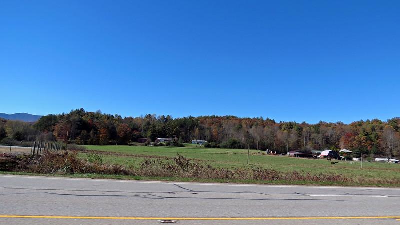 US Route 441 near Dillard, Georgia.