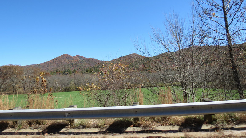 """The Blue Ridge Mountains is also home to Cherokee, North Carolina, a small town that features a lot of really cool stuff.   One of the main entrances to The Great Smoky Mountains National Park is located in Cherokee.  People like me who love a good road trip know that the southern entrance to the Blue Ridge Parkway is located here as well.  And nothing says """"Life is good"""" quite like prime rib, crab legs, and a perfectly cooked brisket courtesy of The Chefs Stage Buffet at Harrah's Casino.  With fall foliage season approaching, I scheduled a Friday off work to plan a long weekend getaway to see some of these sites.  <br /> <br /> Mother Nature was forecast to cooperate nicely for my journey northward.  I set out with the roof down and camera on the dash.  The Athens area sits in a region characterized by low elevation rolling hills were pretty consistent for the first part of the trip.  It wasn't until I crossed Interstate 85 and headed north toward Cornelia and Tallulah Falls that mountains began to appear.  The photos above and below are from the Dillard, Georgia area."""