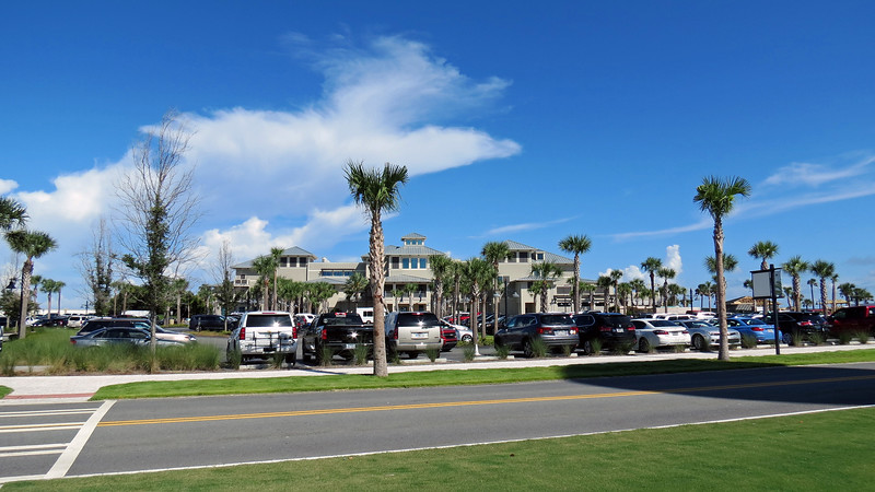 "The photo above shows the new Jekyll Ocean Club next to the Westin Hotel.  The Jekyll Ocean Club is affiliated with the Jekyll Island Club Hotel and serves as their ""beach"" hotel on the island."
