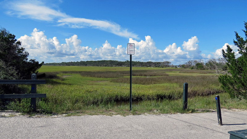 I headed back to the North Loop Trail and continued north until I came to the official entrance to Driftwood Beach.