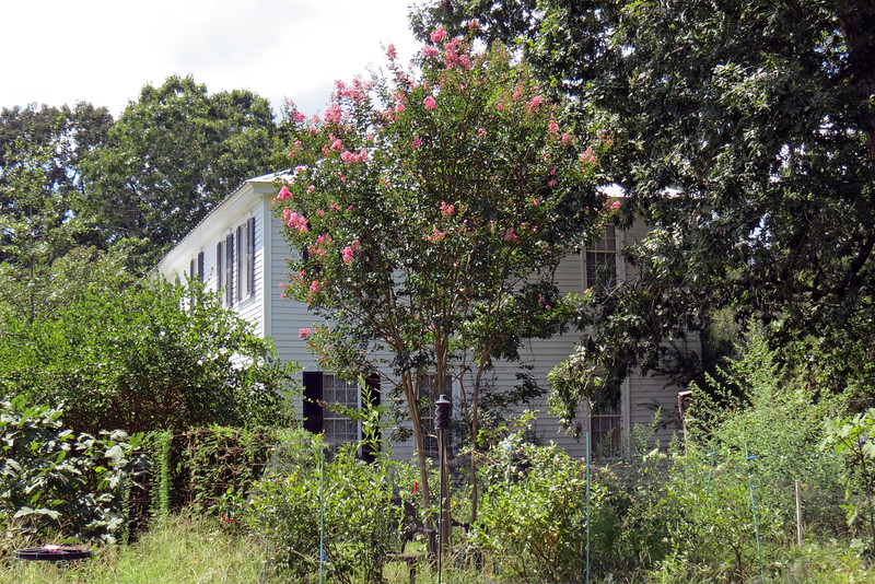 This house was part of a 600 acre plantation that had slaves on the property.  The restoration of the house is ongoing.  Many of the original structures have survived and have been preserved until they can be restored.
