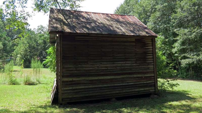 This appears to be a storage shed of some kind.