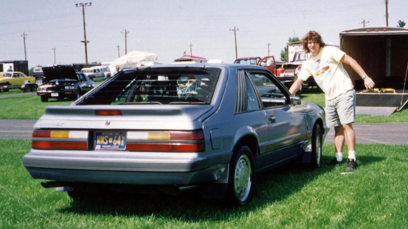 August 1, 1992:  The annual Supercar Showdown held at Quaker City Dragway in Salem, Ohio, USA was the highlight of my summer each year.  My ride this year was a 1986 Ford Mustang GT.