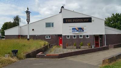 The Popinjay pub Basingstoke 2015.