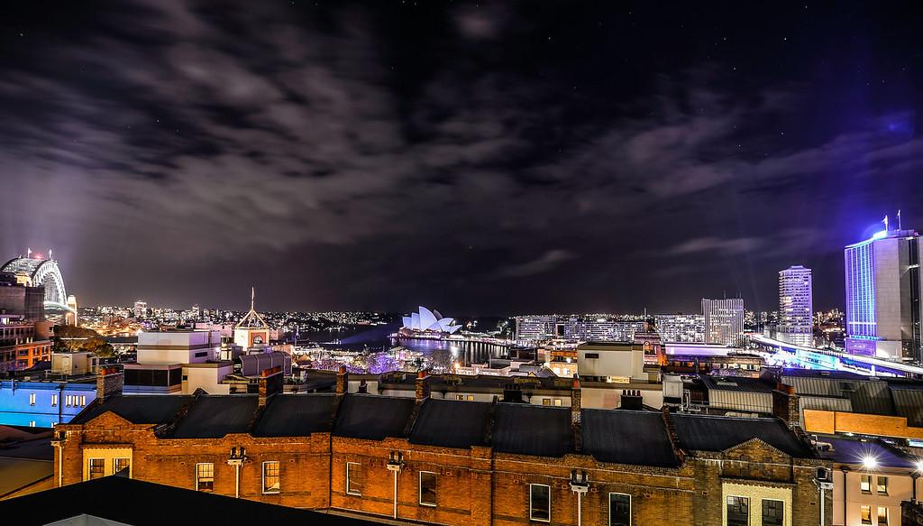 Starry Night Over Vivid Sydney