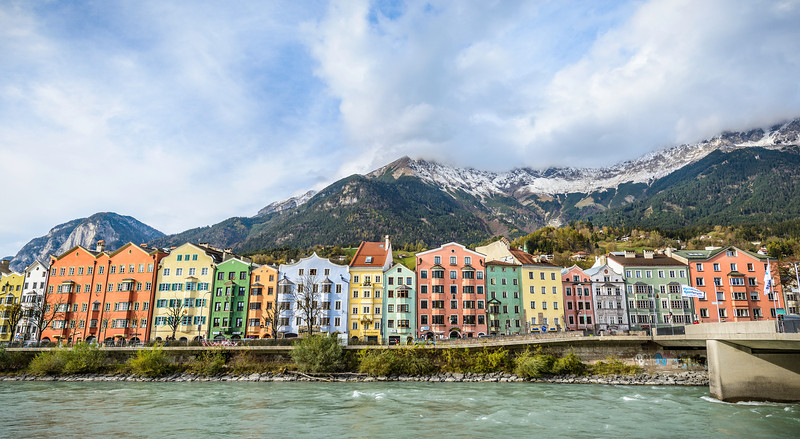 The Pastel Alps of Innsbruck