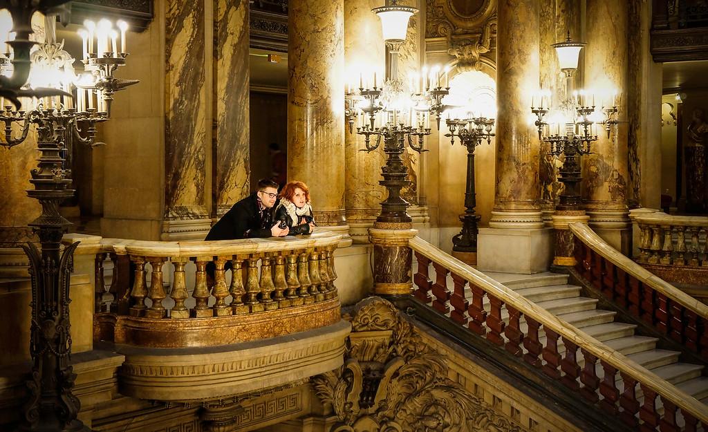 Rendez-vous au Grand Escalier