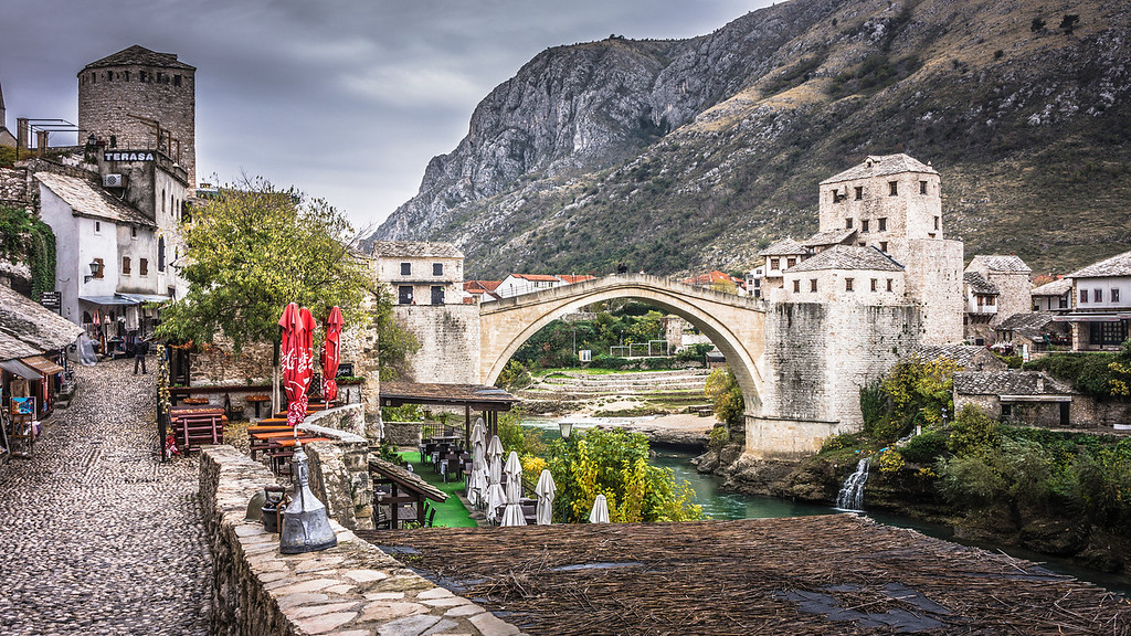 Stari Most Bridge aka The Old Bridge
