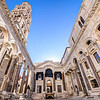 Diocletian's Peristyle and The Cathedral of St. Domnius
