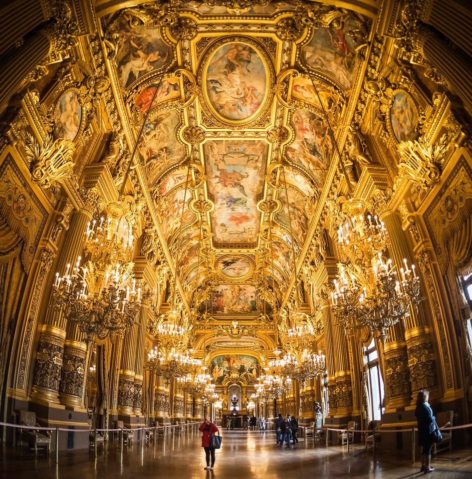 L'opulent Grand Foyer