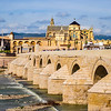 The Roman Bridge of Cordoba, Andalusia