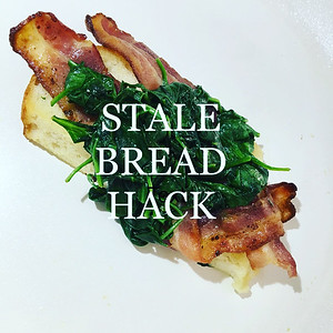 Stale Bread Hack