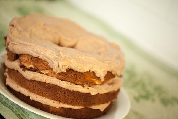 Spiced Mocha Cake
