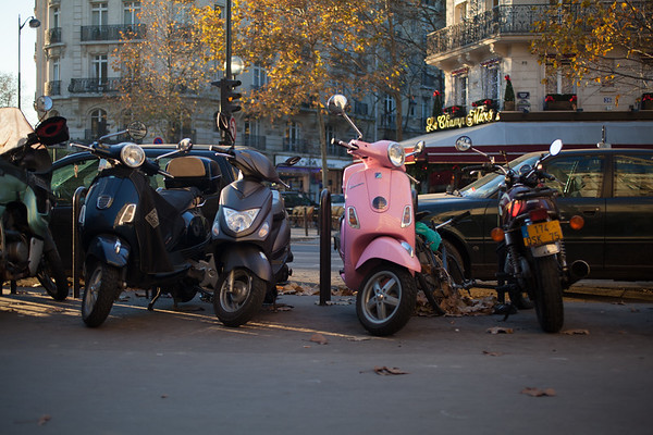 Pinkie in Paris