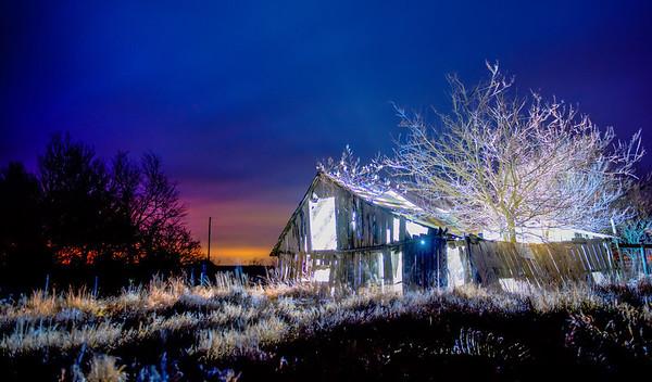The Barn Glowed