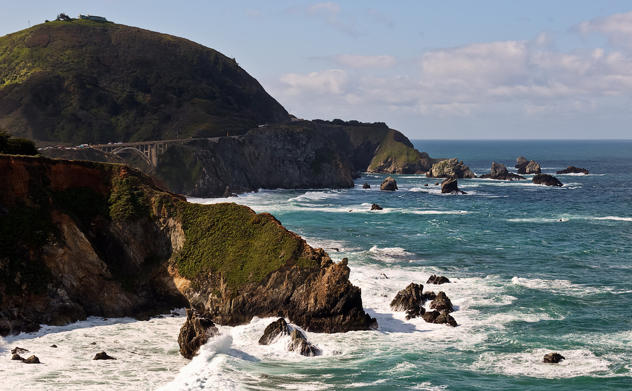 Bixby Bridge #2  http://sillymonkeyphoto.com/2013/05/01/bixby-bridge-2/