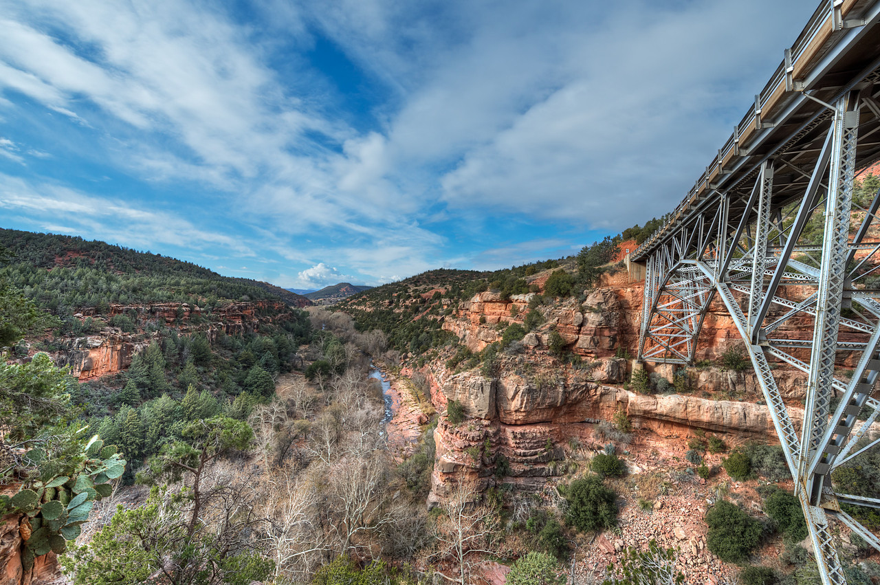 Bridge to Sedona  http://sillymonkeyphoto.com/2013/03/20/bridge-to-sedona/