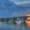 Key Bridge Sunset