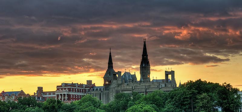 Georgetown University Skyline