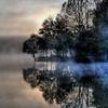 Salem Lake Foggy Sunrise #1