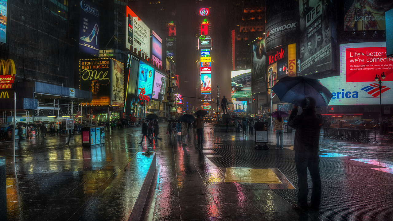 Wet Times Square