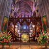 Inside the National Cathedral