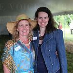 Director of Program Development Kasey Maier and Katherine Halloran.