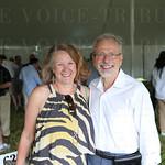 Drs. Mary Helen Davis and Al Martin.