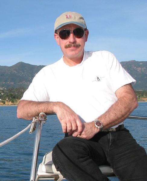 Sailing with friends in Santa Barbara 2003