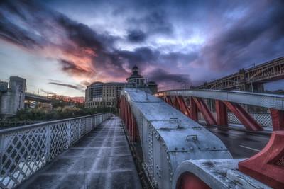 Swing Bridge Sunrise