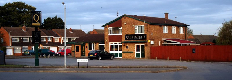 How the pub looked in better times...