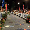 The approach to the finish chute on Alii Drive.