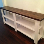 Bookshelf/Display Counter