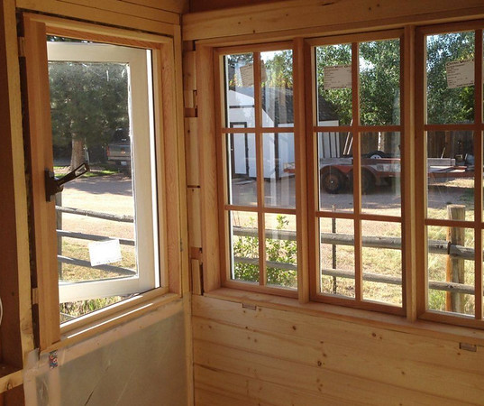 Interior of Tiny House Shell for Sale
