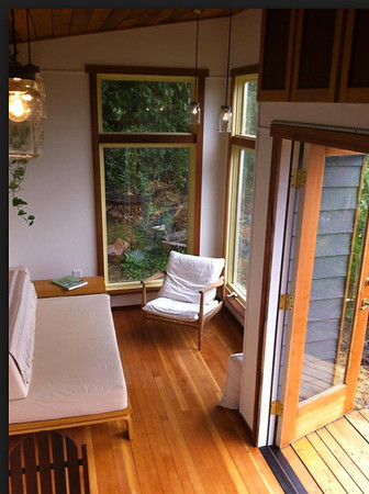 Corner Windows, French Doors, Deck