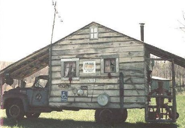 Old camper house