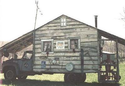 Old camper house