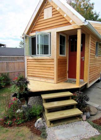 Tiny House built on standard trailer.