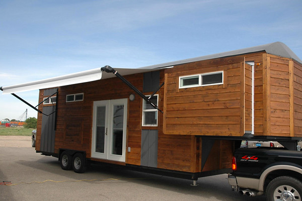 Example of Gooseneck Trailer Tiny House