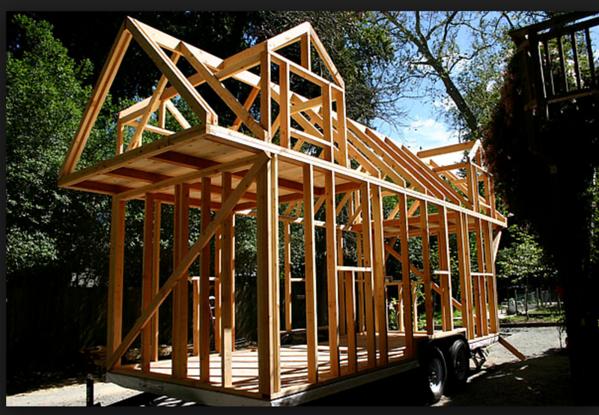 Wood framed Tiny House