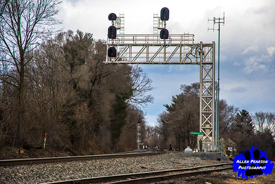 Signals for Norfolk Southern at Shenandoah Junction, WV